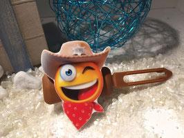 Cowboys / Westernfreunde Hundehaarspange: Nr. 1