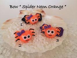 """Halloween Spinnen/Spider """" Spinnengesicht Neon Orange """""""