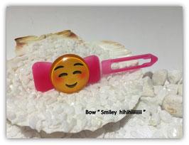 """Emotion / Smiley HundeHaarSpange  """" Smiley  hihiiiiiiii  """""""