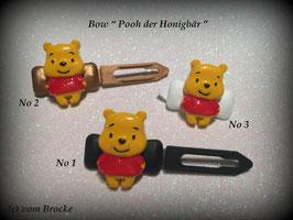 """HundehaarSpange """" Poohhhhhhh, der Honigbär """""""