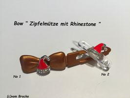 Rhinestone  Zipfelmütze Mini Kristall / Rot