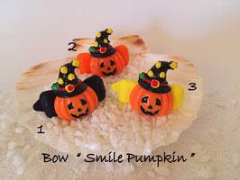 "Bunte Halloween HundehaarSpangen "" Nr  8 Smile Pumpkin """