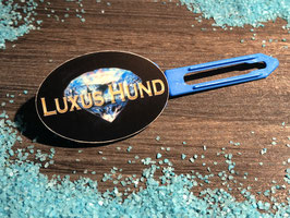 "Hundehaarspange  "" LUXUSHUND Blue Diamond  "" Nr. 2"