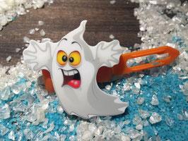 "Halloween Bunte Motivspange "" Geist / Ghost Hui Puh 1 """