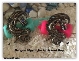 """HundeHaarspange """" Dragon Mystic Girl and Boy """""""