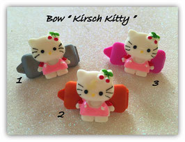 "HundeHaarSpange  Hello Kitty "" Kirsch Kitty KK """