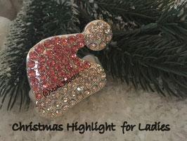 Unser Highlight Nr. 5 Strasszipfelmütze  in rosa - kristall
