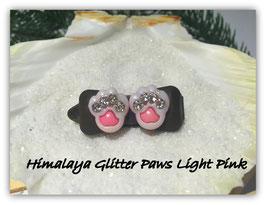 """HundeHaarSpange  """" Himalaya Glitter Paws Light Pink """""""