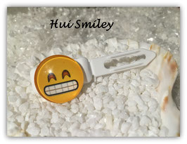 "Emotion / Smiley HundeHaarSpange  "" hui Smiley """