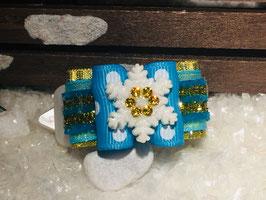 SchneeflockenSchleife FROZEN  OLAF  Nr . 4