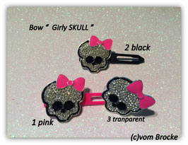 "Skull Highlight "" Girly Skull """