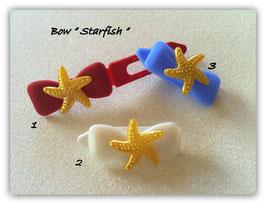 "HundehaarSpange Meer  "" Starfish Gold """