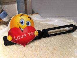 """BalkenHundehaarSpangen Valentine´s Day """" LOVE YOU """""""