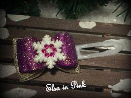 Schneeflockenschleife FROZEN Anna Nr 2