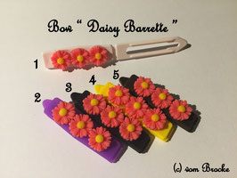 HundeHaarSpange Blume pink  Nr. 12 French Daisy(3) Barrette