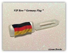 "HundeHaarSpange  "" MotivSpange  Deutschland  Flagge """