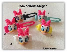 """HundeHaarSpange  """" Sweet Daisy  pink """""""