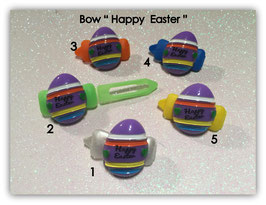 "Ostern  HundeHaarSpange  "" Ei Happy Easter flieder """