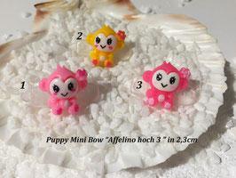 "HundeHaarSpange Mini Puppy Bow   "" Affelino hoch drei    """