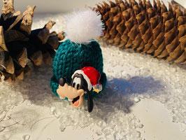 Wintermützchen mit Goofy in Grün