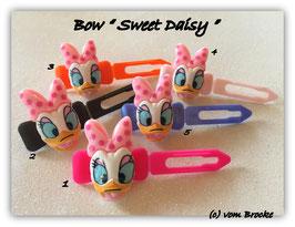"HundeHaarSpange  "" Sweet Daisy  light pink """