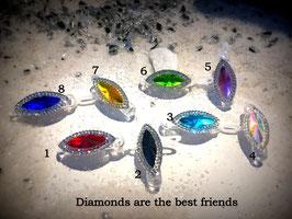 "WelpenHaarSpange  "" DIAMONDS, the best friend  """