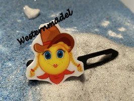 Cowboys / Westernfreunde Hundehaarspange: Nr. 1a