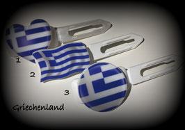 "Fußball Set (3) "" Griechenland  (Flagge/Herz/Button)"