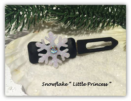 "HundehaarSpange "" Snowflake  Little Princess """