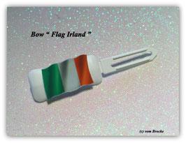 """HundeHaarSpange  """" MotivSpange  Irland Flagge """""""
