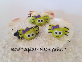 """Halloween Spinnen/Spider """" Spinnengesicht Grün   """""""