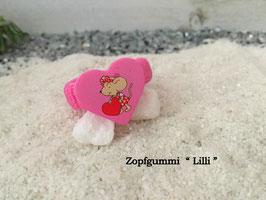 """Zopfgummi  """" Lilli """" Maus mit Herz"""