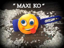 "SonderEmotion / Smiley HundeHaarSpange  "" MAXI KO ! """