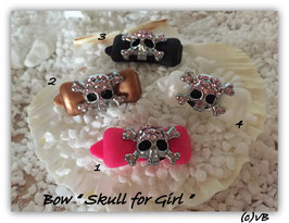 "HundeHaarSapnge  "" Skull for Girl """