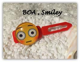 "Emotion / Smiley HundeHaarSpange  "" BOA Smiley """