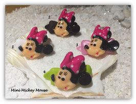 "HundeHaarSpange  "" Mini Mouse mit pinker Schleife """
