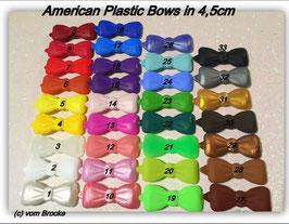 American  Butterfly / Kunststoff HundeHaarSpangen  in 4,5cm Breite