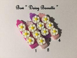 HundeHaarSpange Blume 3 Rosatöne  Nr. 14 French Daisy(3) Barrette