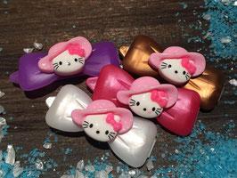 Sommerhüte HundehaarSpangen Nr 4 ( Kittyhut rosa)