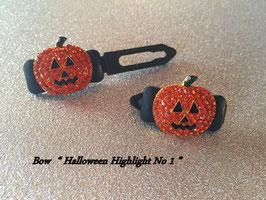 Highlight Spange Halloween  Pumpkin 01