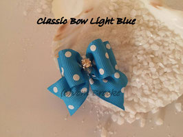 "Schleife "" Classic Bow Light Blue  """