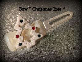 "HundeHaarSpange "" Christmas Tree White """