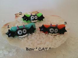 """Bunte Halloween HundehaarSpangen """" Nr 12 CAT """""""