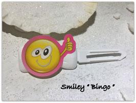 """Emotion / Smiley HundeHaarSpange  """" Bingo """""""