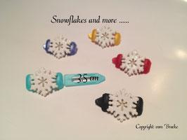 "HundeHaarSpange "" Glamour  Snowflake """