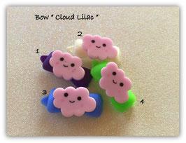 "HundeHaarSpange Auf Wolke 7 "" Cloud Lilac """