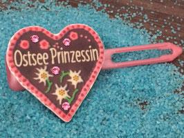 "MotivSpange  "" Oktoberfest  Ostsee Prinzessin  Rosa  mit SWK Pink """