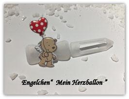 "HundeHaarSpange "" Mein Herzballon  """
