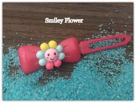 "HundehaarSpange Sonne   "" Smiley Flower Nr . 6 """