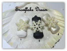 "HundeHaarSpange Schneeflocke  "" Snowflake Dream  """